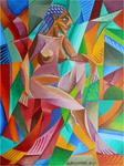 Cubist Cubism Nude