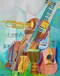 Cubist Cubism Musical Instruments