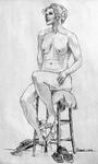 Nude Elderly Female